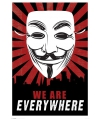 Anonymous maxi poster 61 x91,5 cm
