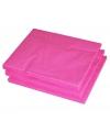 Fuchsia roze lunch servetten 25 stuks