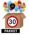 Verjaardagsfeest pakket 30 jaar