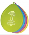 Gekleurde babyshower ballonnen