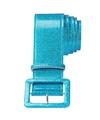 Blauwe riem met glitters