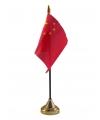 China vlaggetje met standaard
