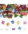 16 Jaar gekleurde confetti
