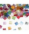 18 Jaar confetti gekleurd