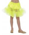 Gele tule rokje voor meiden