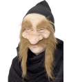 Goudzoeker masker met grote snor