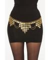 Gouden harem riem