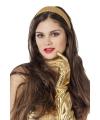 Gouden diadeems met glitters
