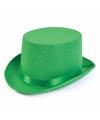 St. Patricks day hoge hoed groen