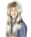 Wilde rockers pruik blond