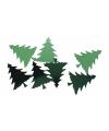 Hobby strooi kerstbomen 250 stuks