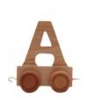 Speelgoed trein letter A