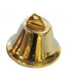 Kerstklokjes goud 38 mm 5 stuks