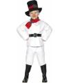 Kinder sneeuwman kostuum