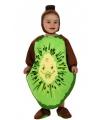 Fruit themafeest Kiwi kostuum voor babys