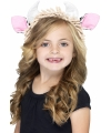 Haarband met koe oortjes voor kids