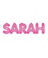 Opblaasbare letters Sarah letters