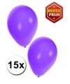 Ballonnen paars 15 stuks