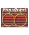 Piraten oorbelletjes