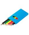 Doosje potloden 6 stuks