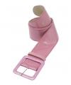 Roze glitter riemen 110 cm