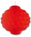 Rode decoratie lampionnen 30 cm