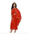 Griekse/Romeinse jurk rood