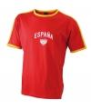 Heren t-shirt met Spaanse print