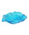 Serveer schalen blauw 22 cm