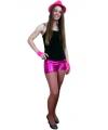 Sexy roze shorts voor dames