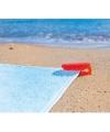 Stranddoek klem rood
