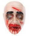 Doorzichtig zombie masker