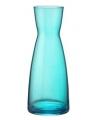 Turquoise blauwe karaffen