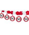 Verkeersborden slinger 50 jaar