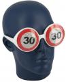 Verkeersbord bril 30 jaar