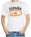 Spanje t-shirt met vlaggen print