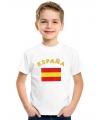 Spaanse vlag t-shirts voor kinderen