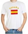 Spaanse vlag t-shirts